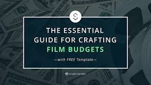 Best Budget Templates Download Your Free Film Budget Template For Film Video