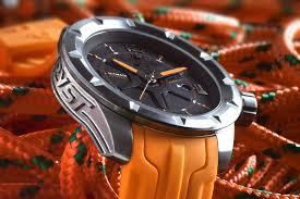 orange swiss sport watch wryst ultimate es50 for men limited edition orange men sport watch