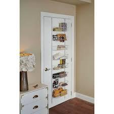 adjule storage rack organizer over the door 8 tier shelf kitchen pantry bath