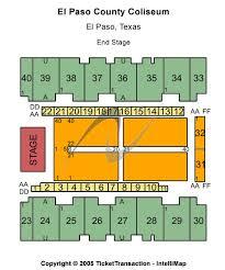 El Paso County Coliseum Tickets Venues