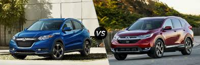 Honda Chart Of Accounts What Is The Difference Between The 2018 Honda Hr V And Cr V