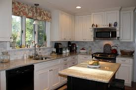 white painted kitchen cabinets. Image Of: Off White Shaker Kitchen Cabinets Painted