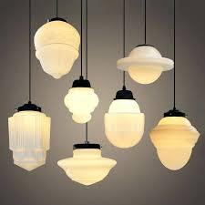 glass pendant lights nz art milk light in bi house
