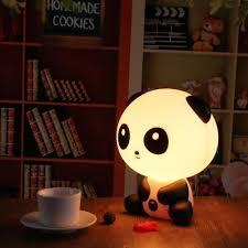 Night Lamps For Bedroom 2017 Pretty Cute Panda Bear Cartoon Animal Night Light Baby Room