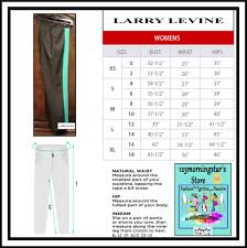 Larry Levine Multi Color Baggy Colorblock Straight Leg Cropped Ankle Style Sa8118mu2 Pants Size 10 M 31