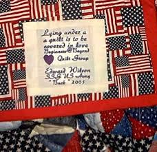 military quilts - a gallery on Flickr & Buck's quilt label Adamdwight.com