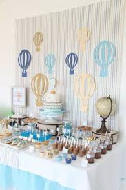 Vintage Hot Air Balloon Baby Shower Baby Shower Party Ideas  Hot Vintage Hot Air Balloon Baby Shower