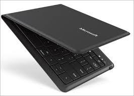Microsoft <b>Universal</b> Foldable Keyboard - Dual Bluetooth Pairing and ...