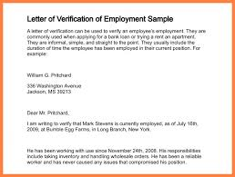 Collection Of Solutions Employment Verification Letter Sample For
