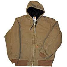 Carhartt Jacket: Men's J130 DES Sandstone Duck Quilt Lined Active ... & Sandstone Duck Quilt Lined Active Jacket J130DES by Carhartt Adamdwight.com