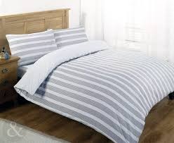 nautical bedding luxury poly cotton duvet cover set striped bed quilt cover sets grey white monochrome single duvet cover co uk kitchen home