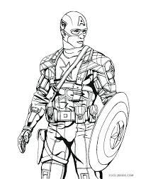 Lego Captain America Coloring Pages At Getcoloringscom Free