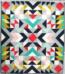 Modern Design Quilts – co-nnect.me & ... Modern Design Quilts Mercury By Jodi Weir Vancouver British Columbia  Quilted By Catherine Hanna Of Geometric ... Adamdwight.com
