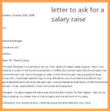 Letter Sample Asking Salary Increase Inspirational Letter Format For
