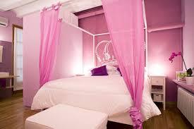 Laminate Bedroom Furniture Brown Laminate Wooden Floor Purple Painted Wall White Teenage Girl