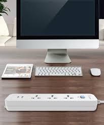 Ổ Cắm Điện Gongniu 3 Ổ Đa Năng + 2 USB 1 Công Tắc – Công Suất 10A/250/2500W  – Trắng – Chính Hãng (N103U) - Thương hiệu GONGNIU