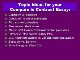 professor nichols comparison contrast essay enc do i want  20 what