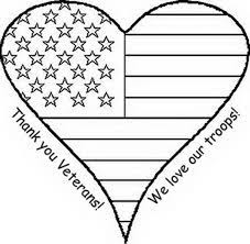 Free Veterans Day Coloring Pages Printable Thank You Sheets