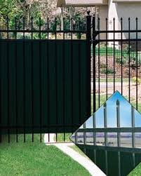 wrought iron privacy fence. Fence Privacy Slat Option Lock For \u0026 Chain Link Mesh. Wrought Iron I