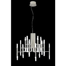 indoor modern white painting led chandeliers
