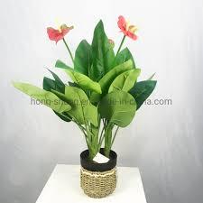 China <b>Fake</b> Flower <b>Fake</b> Tree <b>Simulation Potted Plants</b> Green ...