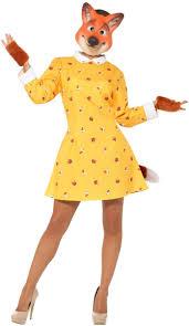 women s roald dahl felicity fox fantastic mr fox book week costume front image