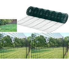green plastic fencing x coated garden border fence wire mesh