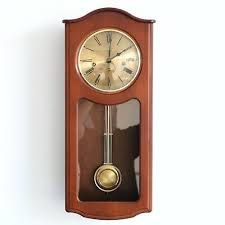 1 new hermle german brass wall clock