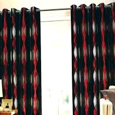 Black living room curtains Decorating Black And Red Curtains For Living Room Red And White Curtains Living Room Home Red Black Westcomlines Black And Red Curtains For Living Room Westcomlines