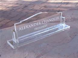 glass desk name plates awesome fice desk name plates uk engraved glass plate real wood home