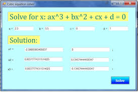 c program to find quadratic equation