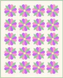 Dresden Plate Block: Free Quilt Pattern & Instructions & pointed and curved ends on the petals Adamdwight.com