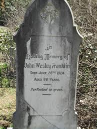 John Wesley Franklin (c.1838 - 1924) - Genealogy