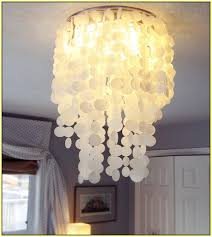 capiz chandelier diy