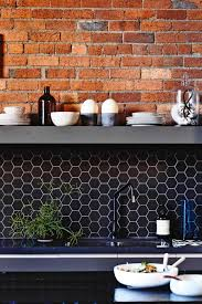 Full Size of Other Kitchen:best Of Kitchen Tiles In Hyderabad Exposed Brick  Black Hexagon ...