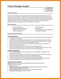 7 Project Management Resume Samples The Stuffedolive Restaurant