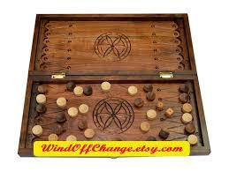 Handmade Wooden Board Games Wooden Backgammon Carved Backgammon Handmade Wood Backgammon 21