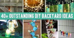 Wonderful Diy Patio Decorating Ideas 40 Outstanding Backyard To Design