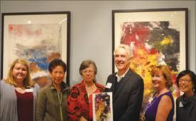 Famed centenarian artist's work comes home to Los Altos ...
