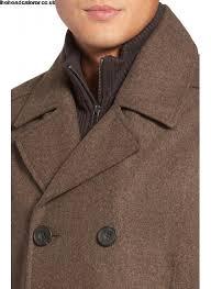 men s kenneth cole new york wool blend peacoat jacket coat gfn