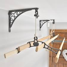 kitchen maid clothes airer wall support bracket sold in singles