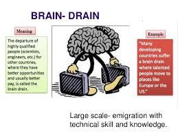 brain drain brain drain large scale emigration technical skill and knowledge