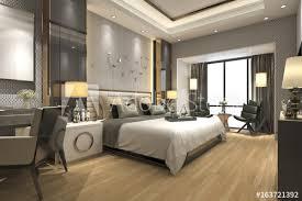 luxury modern bedroom. Simple Luxury 3d Rendering Luxury Modern Bedroom Suite In Hotel To Luxury Modern Bedroom