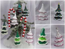 Wackelbäumchen Und Zuckerstange Anhänger Tannenbaum Christbaumschmuck Geschenkeanhänger
