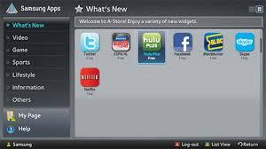 samsung tv apps. samsung tv apps