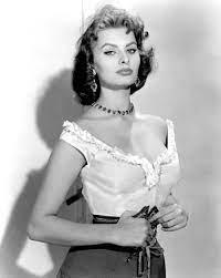 Sophia Loren filmt Bild - Kaufen / Verkaufen