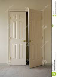 Opening closet doors stock photo. Image of light, hinges - 1989794
