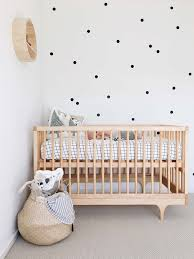 scandinavian nursery furniture. Nursery With Scandinavian And Natural Style Furniture N