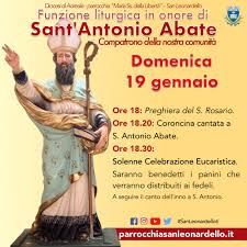 Funzione liturgica a Sant'Antonio Abate 2020