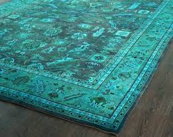 teal blue area rugs teal navy blue and orange area rugs